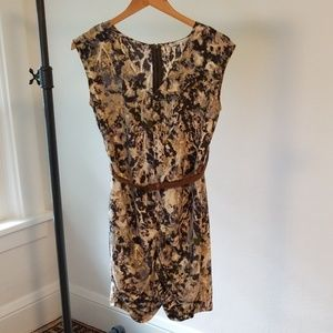 French Connection Modern Print Dress Size 4